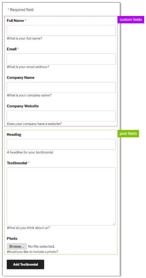 Customizing the Form 2