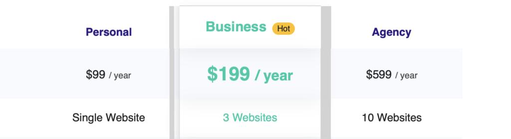easy testimonials pricing
