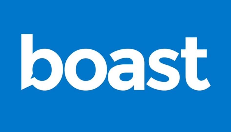 boast logo video testimonial service