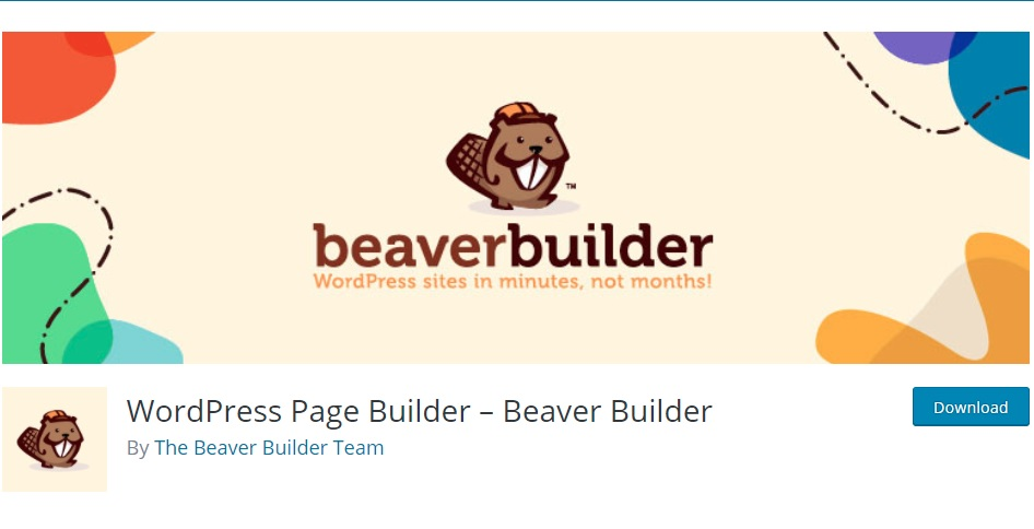 beaver builder wordpress plugin logo