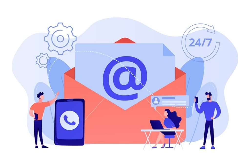 customers receiving email testimonial requests