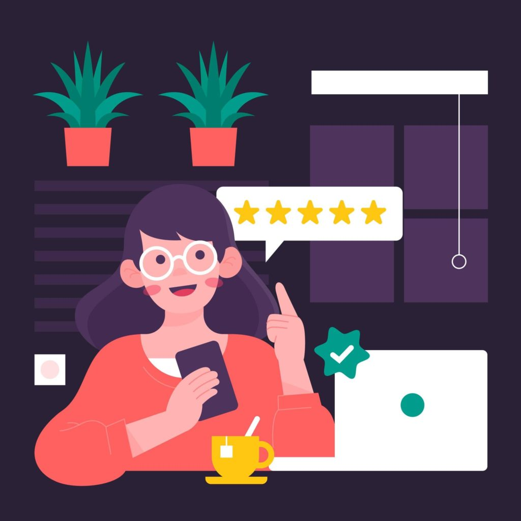 Happy customer = amazing testimonial