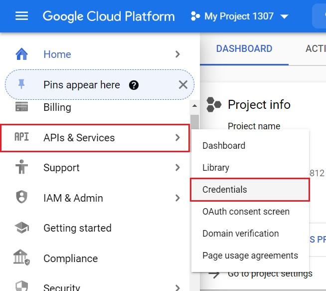 Credentials for API google key to display Google reviews to wordpress