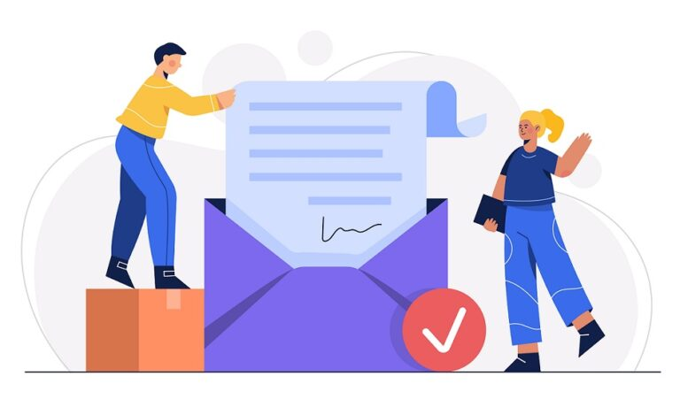 Customers giving testimonials through email