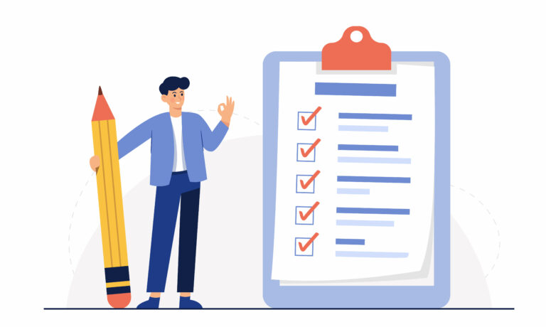 checklist for short testimonials